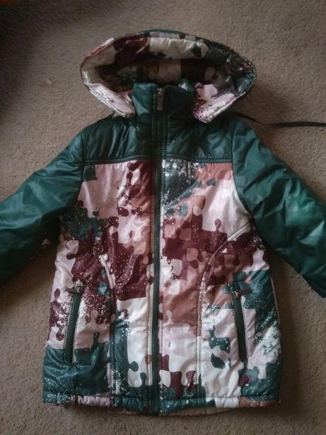 Зимний комбинезон (зимняя куртка + штаны) 6-8 лет