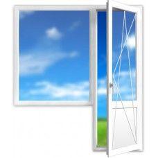 метало-пластиковые окна от производителя .