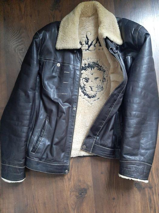 Продаю натуральную мужскую кожаную дубленку куртку на овчине Киев - изображение 1