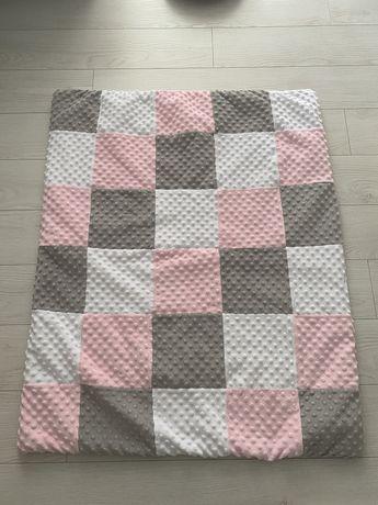 Плед одеяло конверт на выписку полотенце с уголком