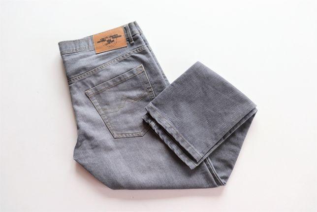 Męskie spodnie jeansowe IDENTIC W34 L32 jeansy r.50 L Slim Fit j.nowe