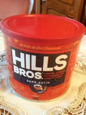 Kawa mielona Hills Bros Dark Satin z USA