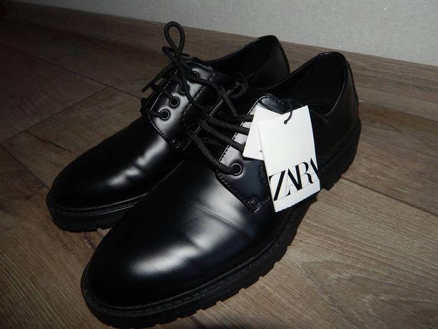 Мужские туфли Zara 43 p.