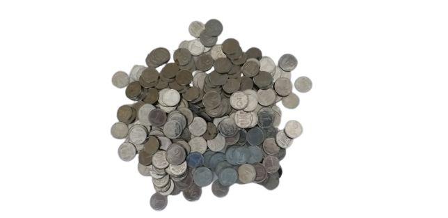 Монеты 1 и 2 копейки. Более 300 штук.