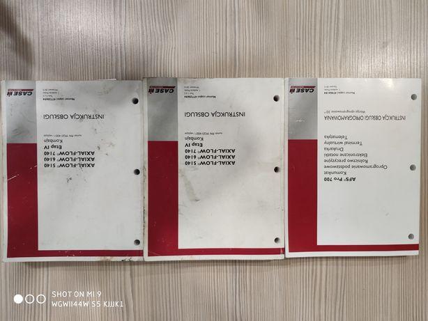 Instrukcja kombajn Case Axial - Flow m5140 m6140 m7140