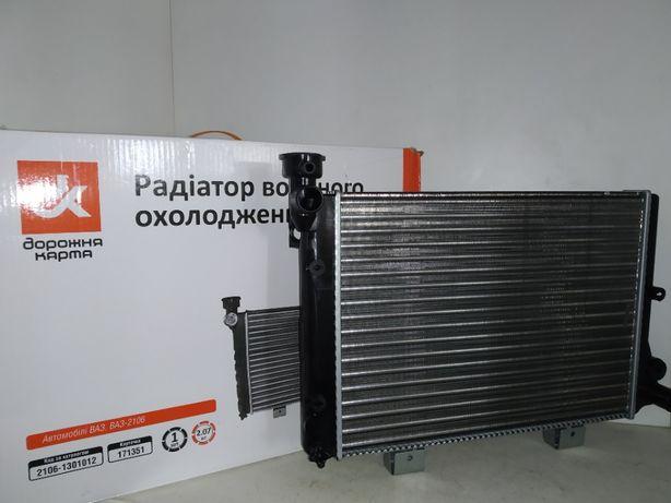 Радиатор охлаждения Ваз Жигули 2103,2106 Дорожная Карта