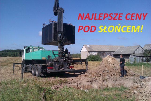 SZAMBO betonowe 10m3 SZAMBA zbiornik na deszczówkę, kanał samochodowy