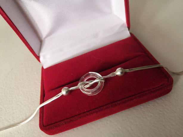 Piękna bransoletka - srebro 925