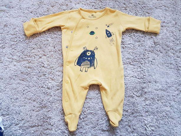 Śliczny pajac pajacyk piżama Next