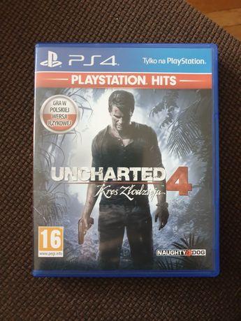 Uncharted 4 Kres Złodzieja na PS4