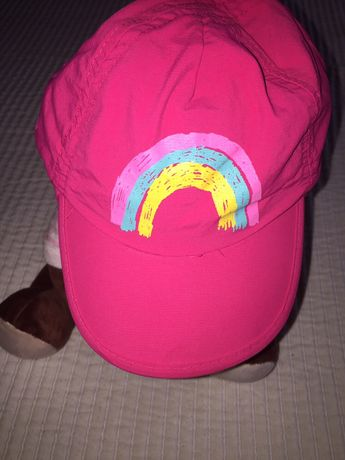 Boné/chapéu de praia menina 18-24 meses47-49 cm Decathlon upf50+