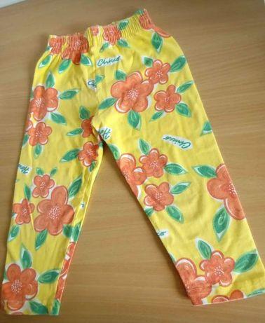 Calças leggings com flores Chicco menina tamanho 2 anos