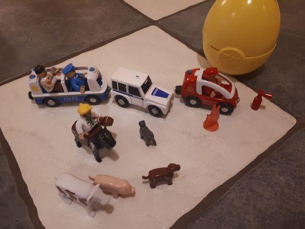 Play active junior zestaw strażak, policjant weterynarz  + akcesoria