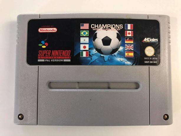Gra Champions World Class Soccer Super Nintendo SNES PAL
