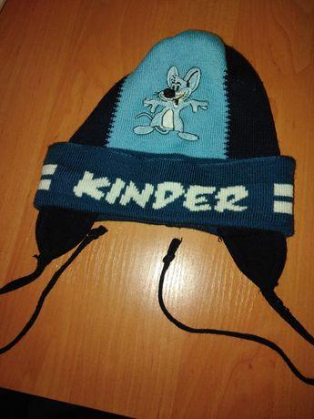 Весенняя шапочка киндер от 2-4лет. Бесплатная доставка укр почтой