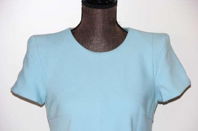 SIMPLE niebieska błękitna sukienka suknia 34 XS 36 S