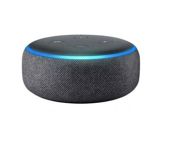 Nowy inteligentny głośnik Amazon Echo Dot 3 EU generacji Czarny alexa