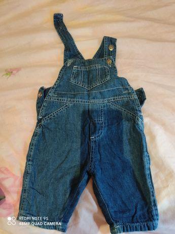 Детский джинсовый комбенизон