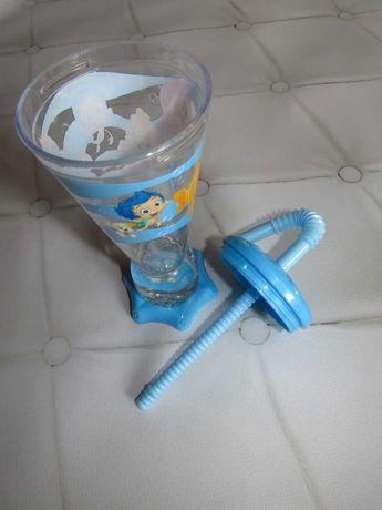 ПОИЛЬНИК: стакан с трубочкой для питья ТМ Nickelodeon