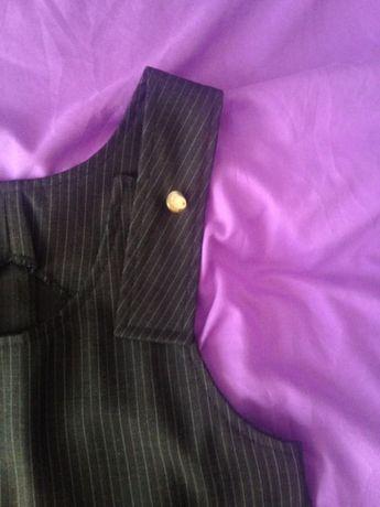 школьная форма(4 вещи):сарафан, брюки, жилет и пиджак