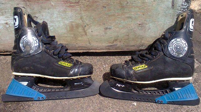Продам коньки Graf 4000, хоккейные