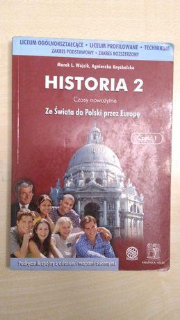 M.L. Wójcik, A. Knychalska, Historia 2.Cz.1. Podręcznik Ks.-Atlas-PPWK