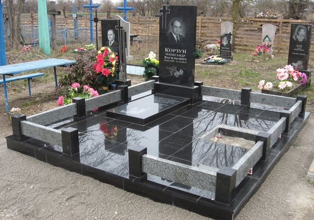 Памятники  с установкой от 4800 грн (ул. Лермонтова 26) МП Гранит