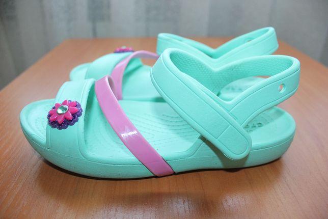 Кроксы crocs 1J на девочку 31 - 32 размер