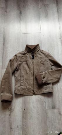Куртка жіноча, кольору гірчиці