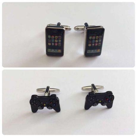 Botões de punho apple Iphone   comando playstation PS4