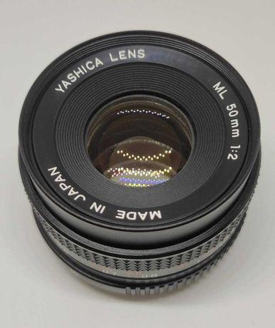 Objectiva Yashica ML 50mm f2 C/Y