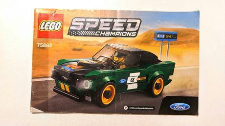 Гоночная машина Lego 75884 оригинал