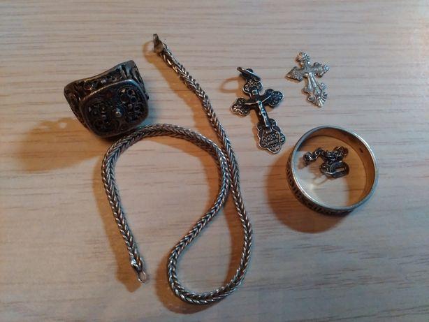 Серебро одним лотом 13грамм(цена за все)