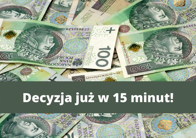 Kredyt ONLINE - BEZ prowizji, BEZ wstępnych opłat - szybka decyzja