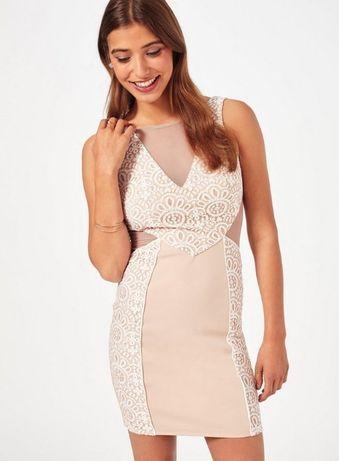 Фирменное коктейльное платье Miss Selfridge