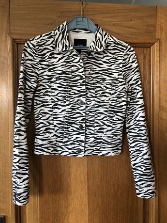 Kurtka jeansowa  Object  zebra S
