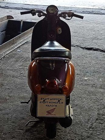 Запчасти на скутер honda crea skoopi af55