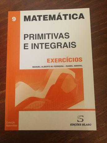 Matemática - Primitivas e Integrais (exercícios)