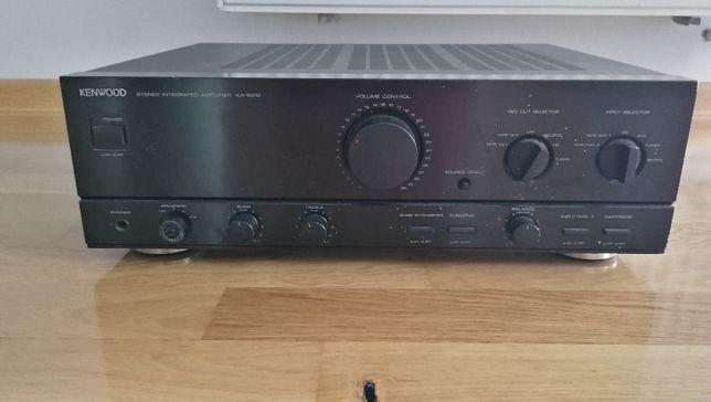 Mocny wzmacniacz stereo Vintage Kenwood KA 5010 Made in Japan