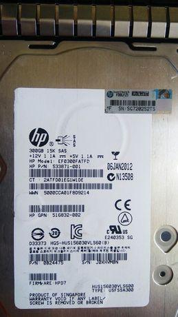 Жесткий диск SAS 300GB 15K