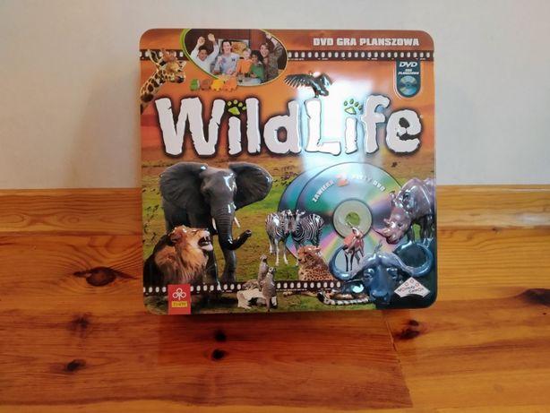 Gra edukacyjna WILDLIFE z DVD
