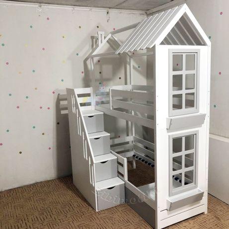 Акция!Двухэтажная кровать, двухъярусная кроватка, двухьярусная кровать