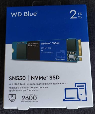 SSD 2TB M.2 2280  Nvme WD Blue