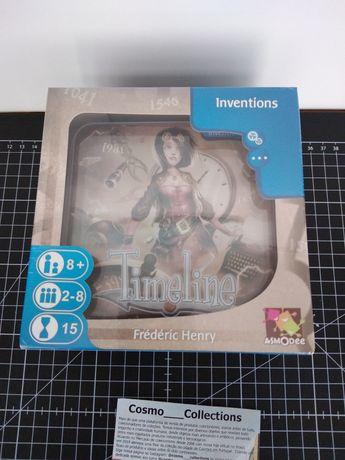Jogo Timeline Inventions,  jogo novo selado