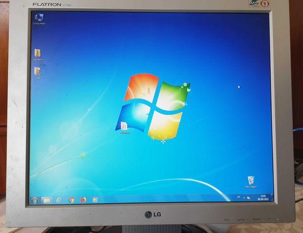 Torre PC+monitor LG+teclado+rato