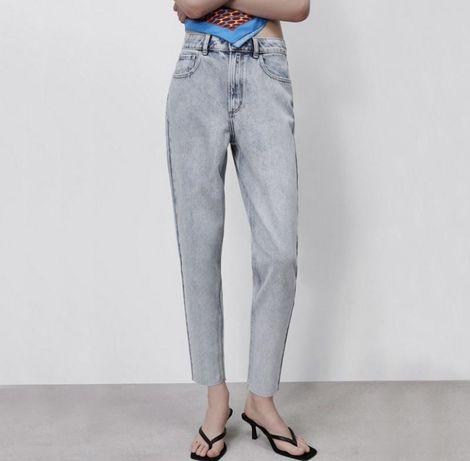 Женские джинсы новые голубые