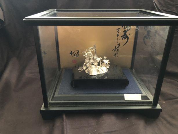 Японское серебро, окимоно, ювелирное искусство