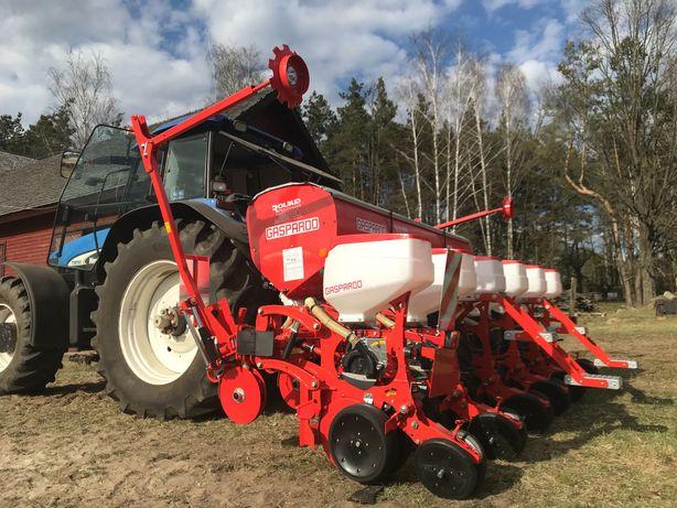 Siew kukurydzy, traw i zbóż, uprawa łąk, usługi rolnicze, usługi rolne