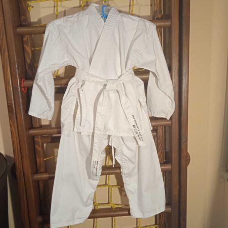 Кимоно детское карате единоборства  120 -  130 см