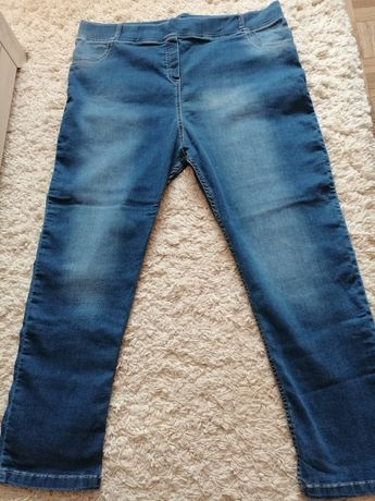 Damskie spodnie jeansowe w rozmiarze 9XL